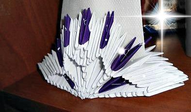 Модульное оригами Салфетница видео урок