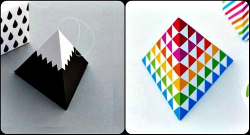Оригами игрушки на новый год мастер-класс