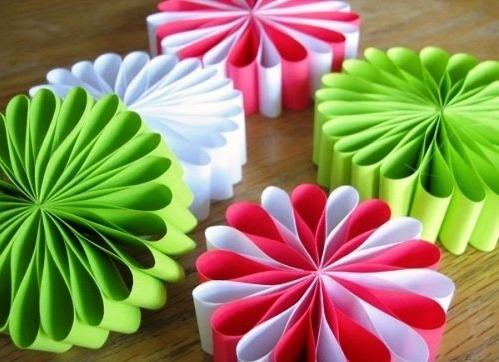 Оригами из бумаги новогодняя игрушка