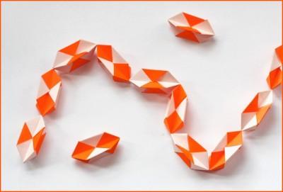Оригами из модулей новогодние игрушки