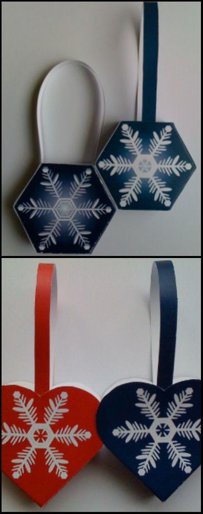 Оригами корзинка - бумажное украшения для ёлочки