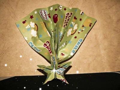 Оригами новогодняя звезда видео урок