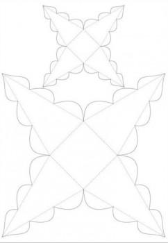 Оригами схемы новогодняя ёлочка