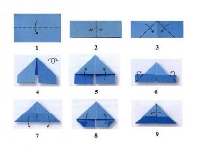 Оригами ёлка схема сборки модулей