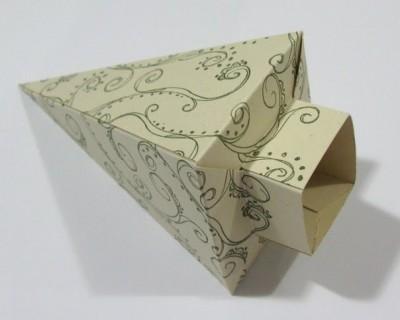 Подарочные коробочки оригами видео урок