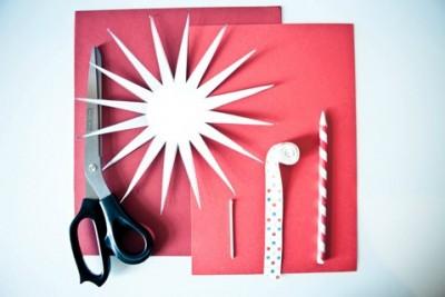Схема сборки Новогодняя подарочная упаковка своими руками