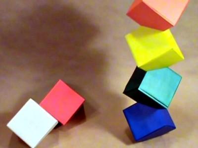 Башня оригами видео мастер-класс