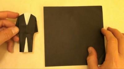 Костюмы из бумаги схема сборки
