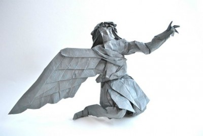Мифический Икар оригами схемы сложные