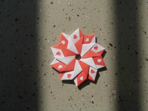 Модульная звезда-десятиугольник за схемой Christine Edison