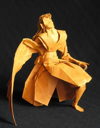 Очень сложное оригами Икар мастер-класс от Hojyo Takashi