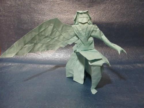 Очень сложное оригами - мифический Икар за схемой Hojyo Takashi