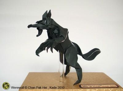 Origami Werewolf