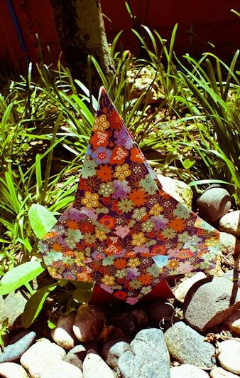Оригами из бумаги Дерево мастер-класс