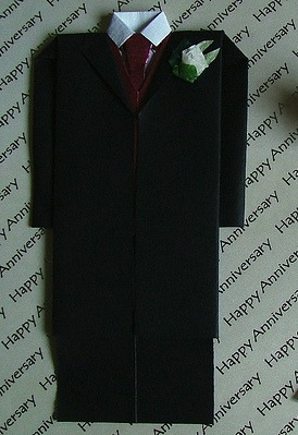 Оригами костюм за схемой Jeremy Shafer