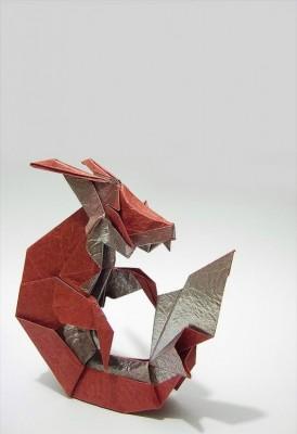Оригами знаки зодиака - Козерог за схемой Kade Chan