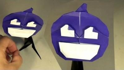 Схема сборки оригами Светильник Джека от Jeremy Shafer