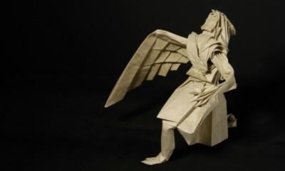 Сложные оригами Икар за схемой Hojyo Takashi видео урок