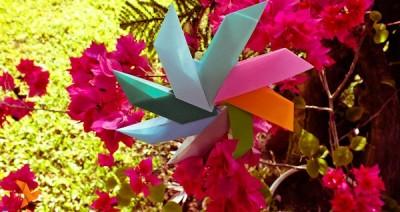Солнышко оригами видео мастер-класс