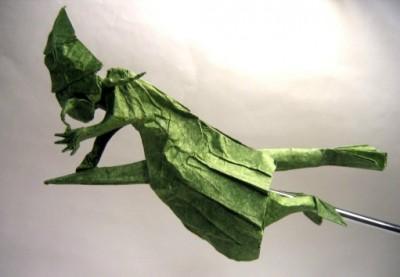 Ведьма своими руками оригами мастер-класс