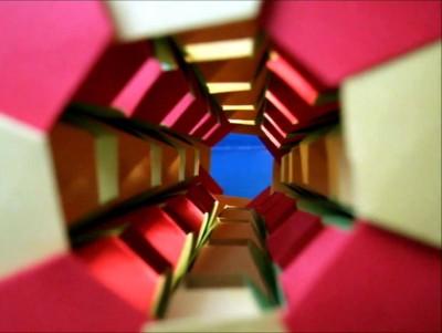 Видео урок башня из бумаги своими руками от Mihoko Tachibana