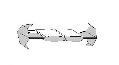 Звездные войны: оригами TIE Bomber