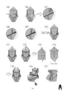 Сложные поделки своими руками - Вервольф за схемой Le Tuan