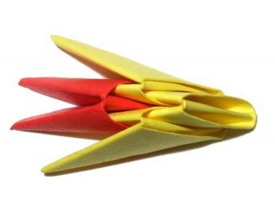 Как сделать модули для модульного оригами Дракон-Змееныш