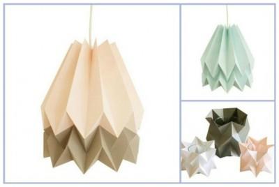 Люстра оригами  Orikomi Handmade Origami Lighting