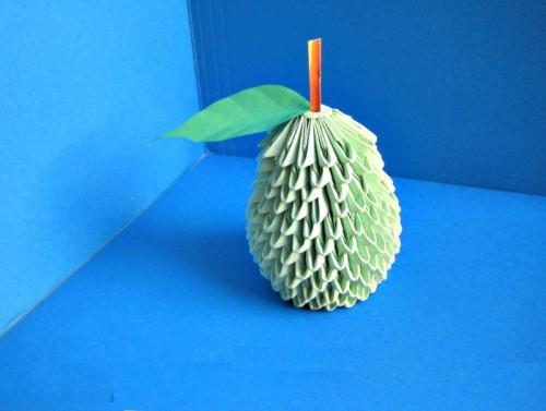 Модульное оригами Груша