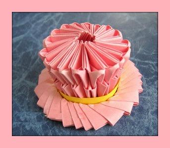 Модульное оригами Шляпа