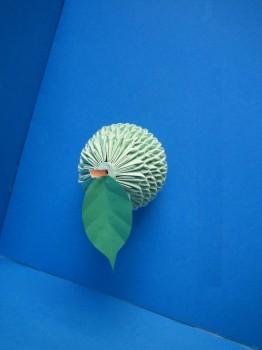 Оригами груша схема сборки