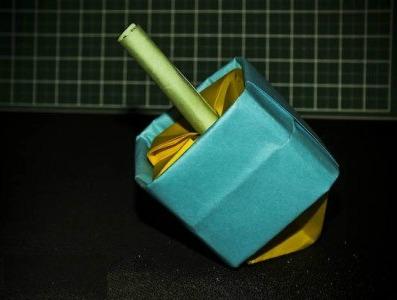 Оригами волчок видео схема по сборке