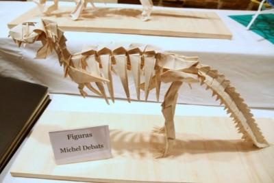 Тиранозавр оригами видео мастер-класс
