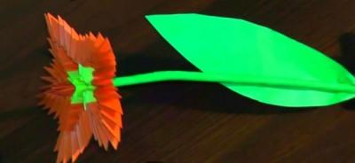 Оригами из бумаги 8 марта модульное оригами цветов