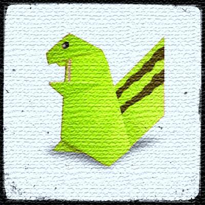 Белка оригами видео урок