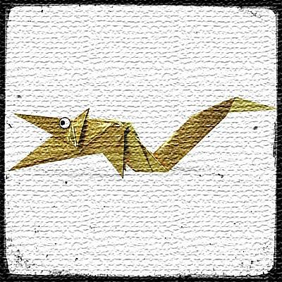 Дракон оригами схема