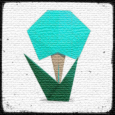 Мастер-класс оригами Цветок из бумаги