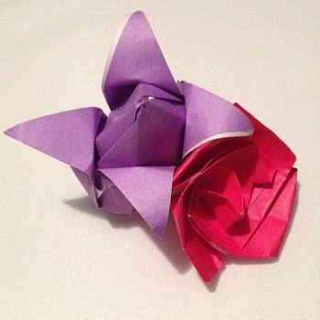 Оригами Цветов видео