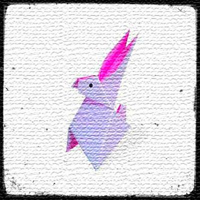 Заяц оригами из бумаги видео