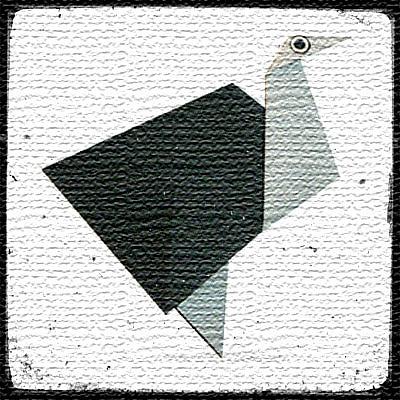 Аист оригами