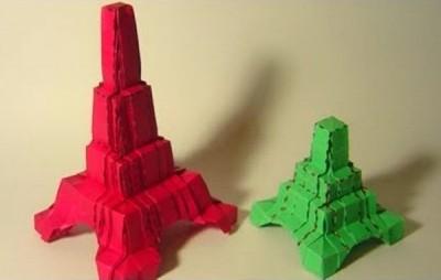 Башня из бумаги