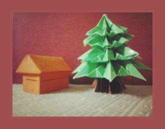 Как сделать оригами Дом
