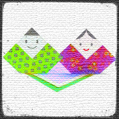 Куклы оригами