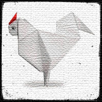 Курица оригами видео