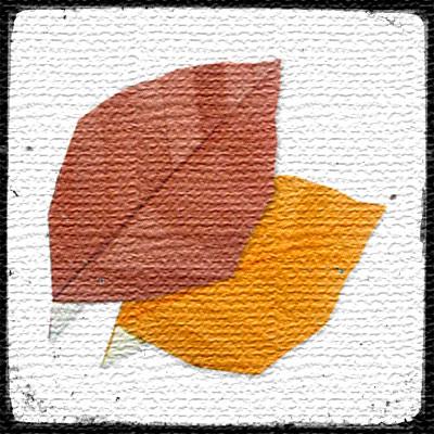 Листочки оригами