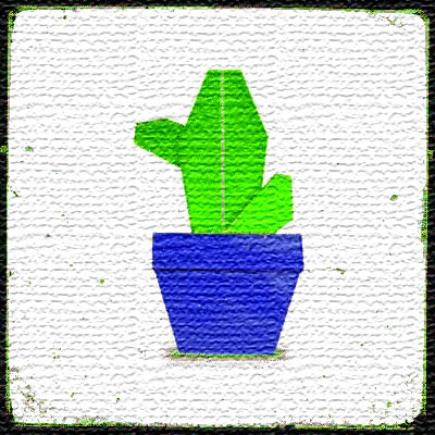 Мастер класс оригами Кактус