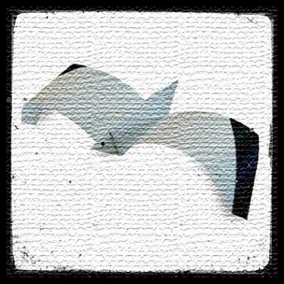 Орел оригами