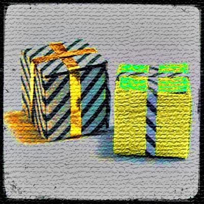 Оригами Подарок
