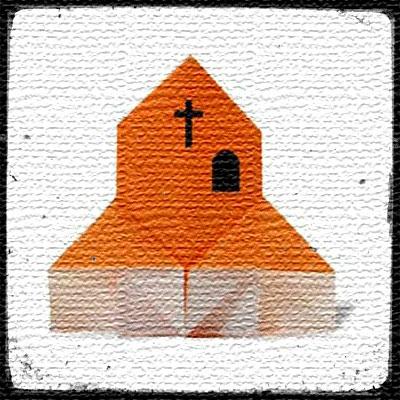 Оригами Замок